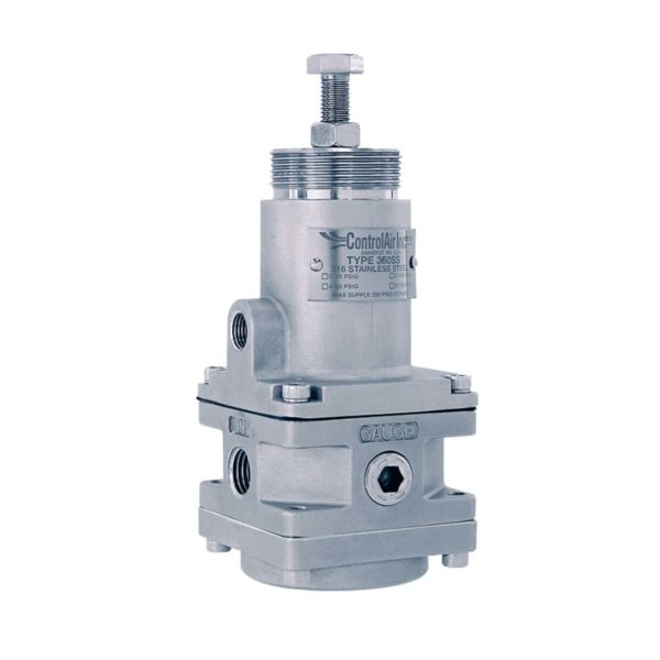 Type 360 Stainless Steel Pressure Regulator