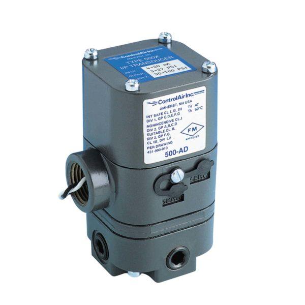 Type 500 Electro-Pneumatic I/P Transducer (I/P, E/P)