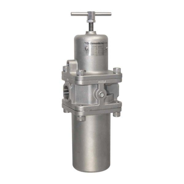 Type 380 Large Flow Capacity Stainless Steel Filter Regulator