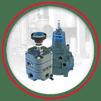 Air Pressure Regulators & Filter Regulators