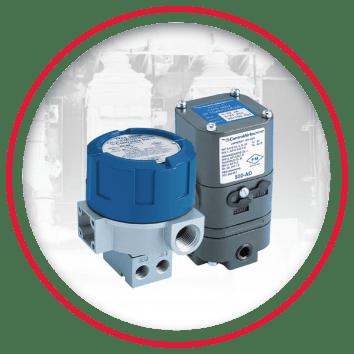 I/P, E/P, P/I Pressure Transducers